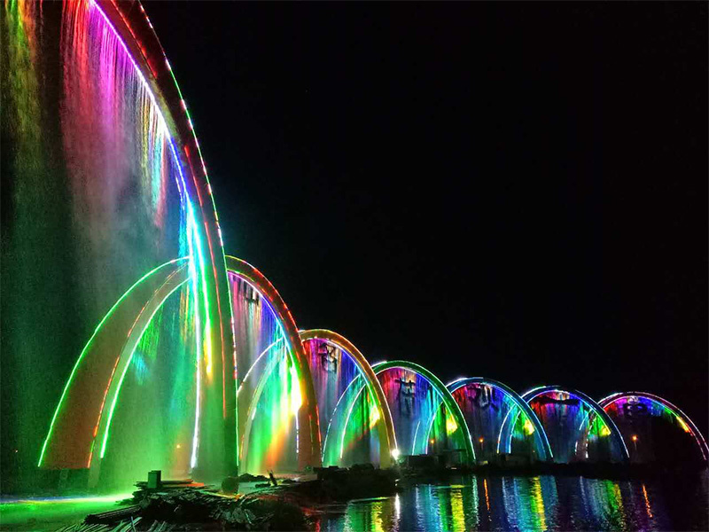 Yellow River above the Rainbow project
