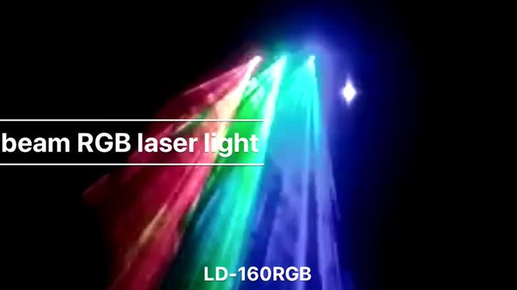 3 beam RGB laser light LD-160RGB