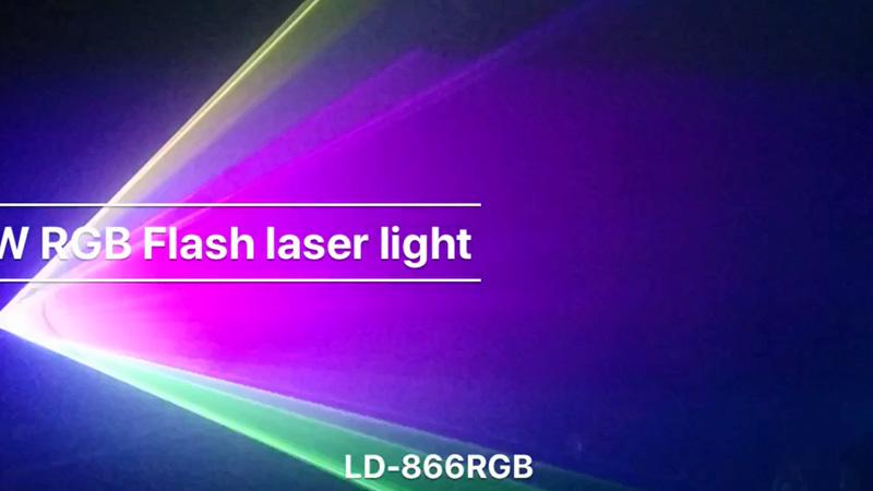 1W RGB laser light LD-866RGB