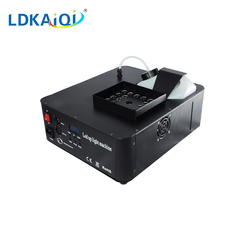 fog machine with 24 leds 1500W