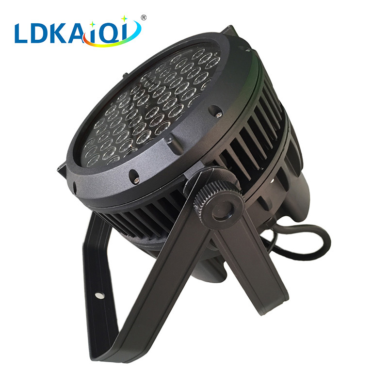 RGBW led waterproof par light 54x3W