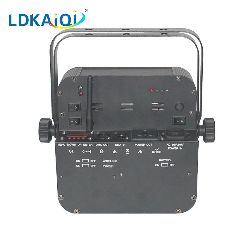 led battery wireless flat par light 9*10W 4in1/5in1/6in1