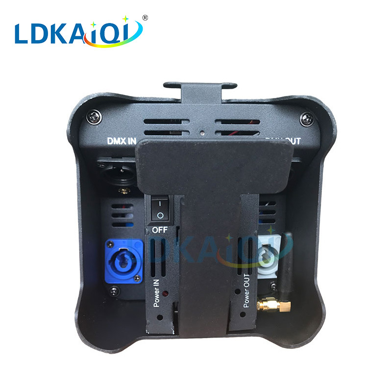 led uplight battery wireless wifi and remote control 4X12W
