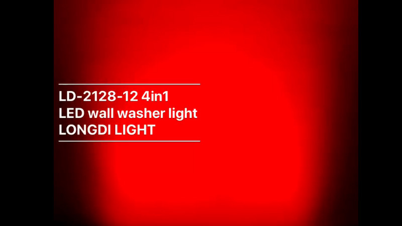 12X10W RGBW 4in1 LED wall washer light LD-2128-12 4in1